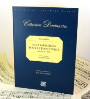 8 Variations Pour le Pianoforte Op. 1 - LISZT - laflutedepan.com