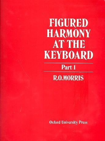 Figured Harmony At The Keyboard Book 1 - laflutedepan.com