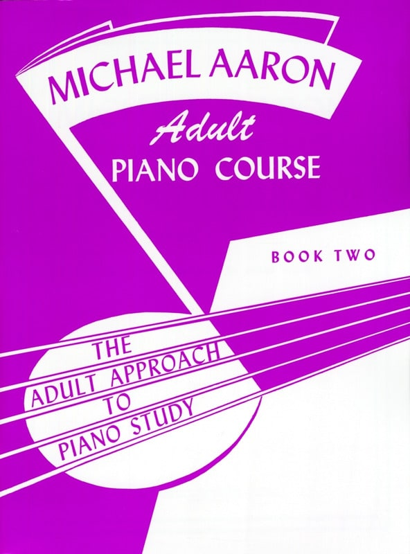 AARON - Piano Course Adult Book 2 - Partition - di-arezzo.co.uk
