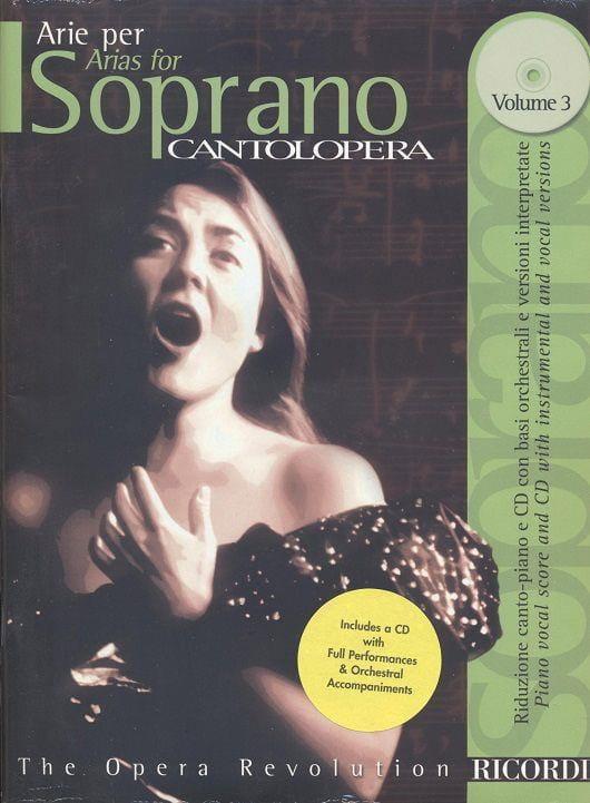 Arie Per Soprano Volume 3 - Partition - Opéras - laflutedepan.com