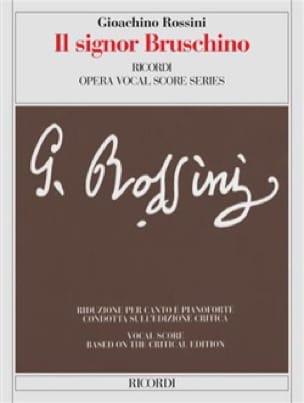 Il Signor Bruschino - Gioachino Rossini - Partition - laflutedepan.com