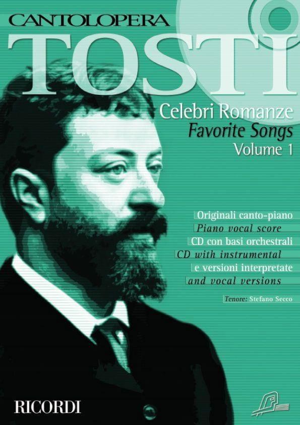 Francesco Paolo Tosti - Celebri Romanze Volume 1 - Partition - di-arezzo.co.uk