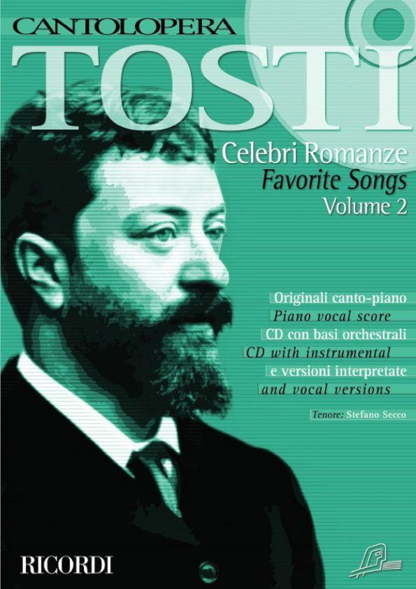 Francesco Paolo Tosti - Celebri Romanze Volume 2 - Partition - di-arezzo.co.uk
