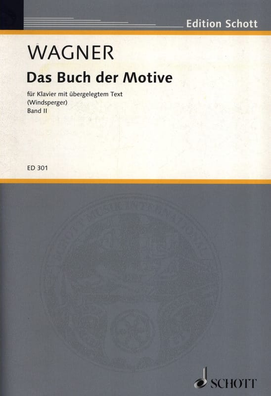 Richard Wagner - Das Buch Der Motive, Bd 2 - Partition - di-arezzo.co.uk