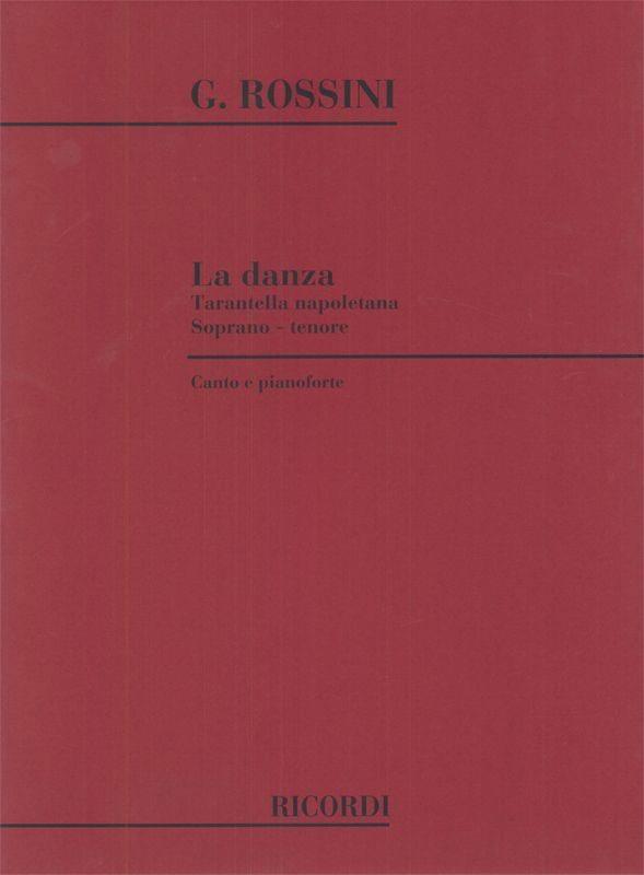 La Danza .Voix Haute - ROSSINI - Partition - laflutedepan.com