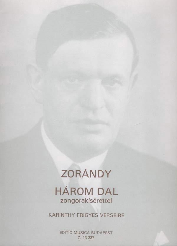 3 Songs - Zorandy - Partition - Mélodies - laflutedepan.com