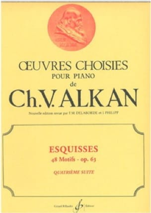 Esquisses Opus 63 Volume 4 - ALKAN - Partition - laflutedepan.com