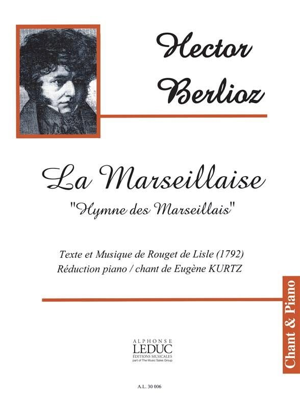 BERLIOZ - The Marseillaise - Partition - di-arezzo.co.uk