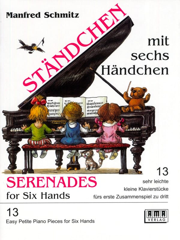 Manfred Schmitz - Lullabies with 6 Hands - Partition - di-arezzo.co.uk