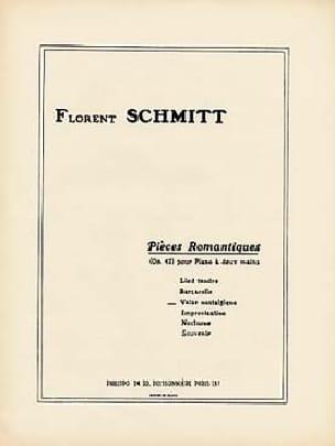 Valse Nostalgique - Florent Schmitt - Partition - laflutedepan.com