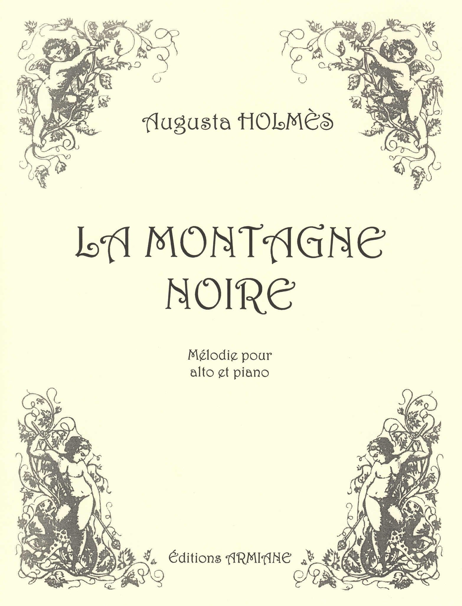 La Montagne Noire - Augusta Holmès - Partition - laflutedepan.com