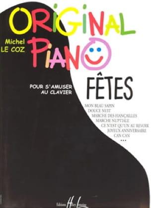 Original Piano Fêtes - Coz Michel Le - Partition - laflutedepan.com