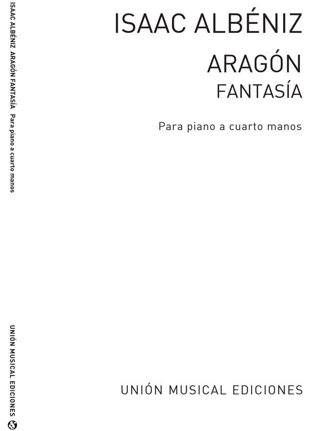 Aragon. 4 mains - ALBENIZ - Partition - Piano - laflutedepan.com