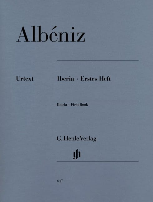 Isaac Albeniz - Iberia - First notebook - Partition - di-arezzo.co.uk