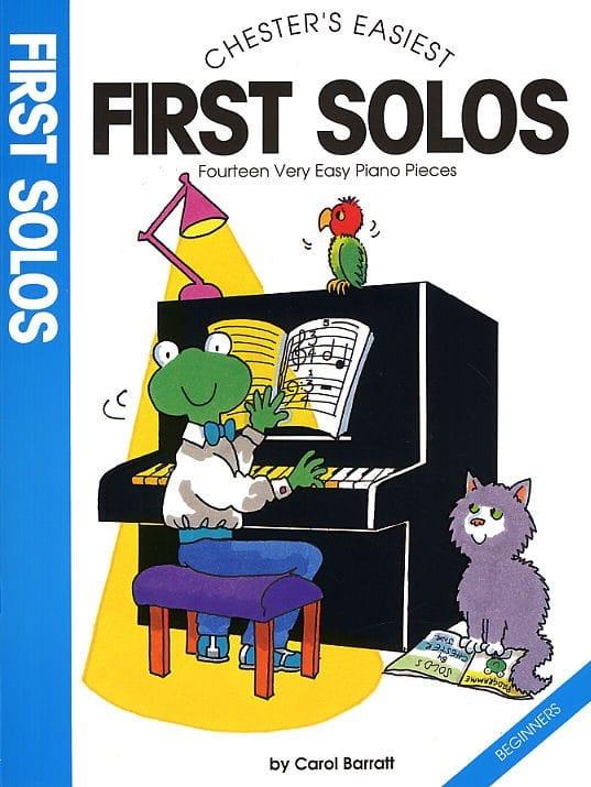 First Solos - Carol Barratt - Partition - Piano - laflutedepan.com