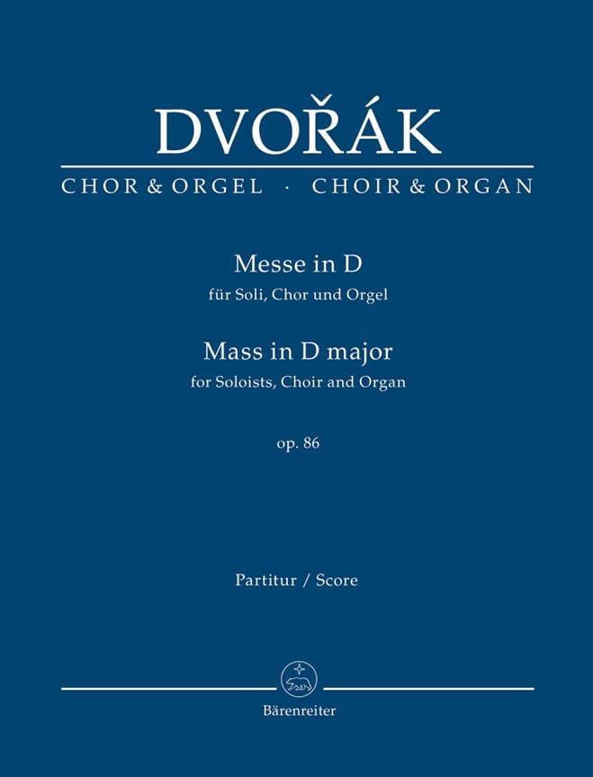 DVORAK - Masa en re mayor - Partition - di-arezzo.es