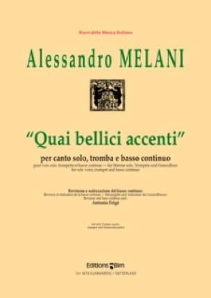 Quai Bellici Accenti - Alessandro Melani - laflutedepan.com