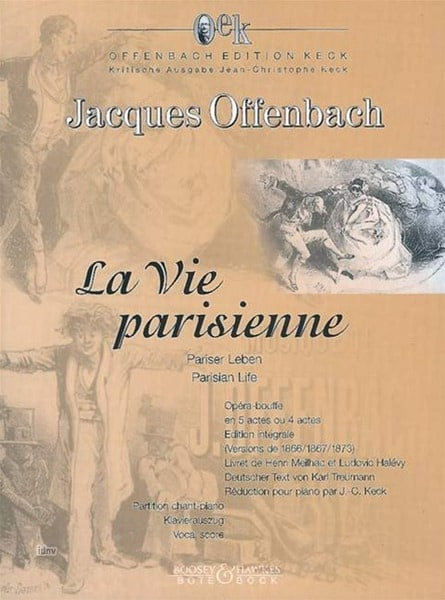 Jacques Offenbach - Parisian life - Partition - di-arezzo.co.uk