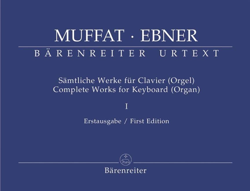 Complete Works For Keyboard Organ Volume 1 - laflutedepan.com
