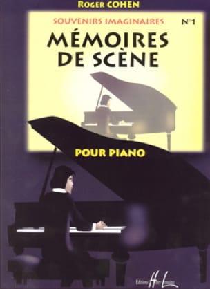 Mémoires de Scène - Roger Cohen - Partition - Piano - laflutedepan.com