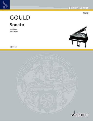 Sonata - Glenn Gould - Partition - Piano - laflutedepan.com
