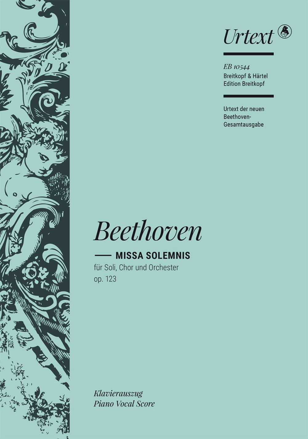 BEETHOVEN - Missa Solemnis Opus 123 - Partition - di-arezzo.com