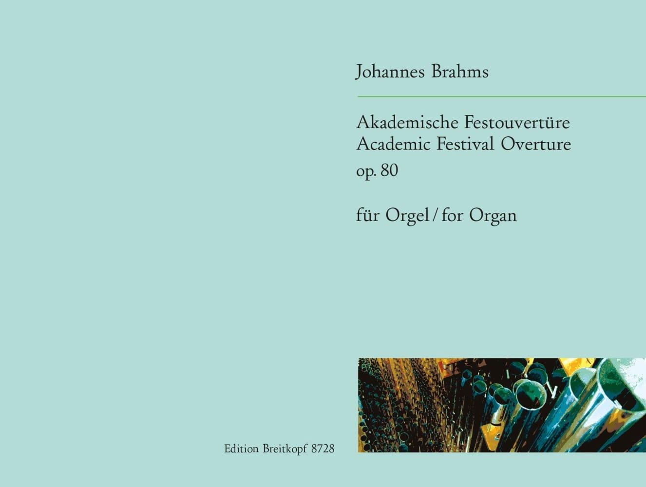 Akademische Festouverture Op. 80 - BRAHMS - laflutedepan.com