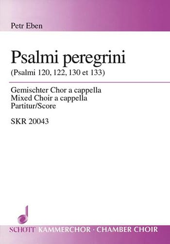 Petr Eben - Psalmi Peregrini - Partition - di-arezzo.fr