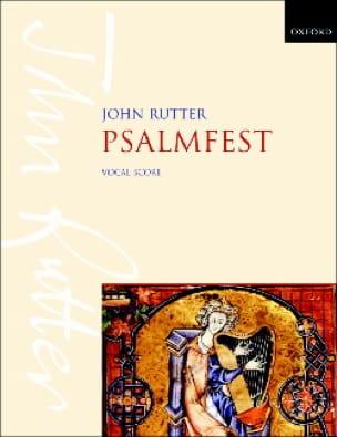 John Rutter - Psalmfest - Partition - di-arezzo.com