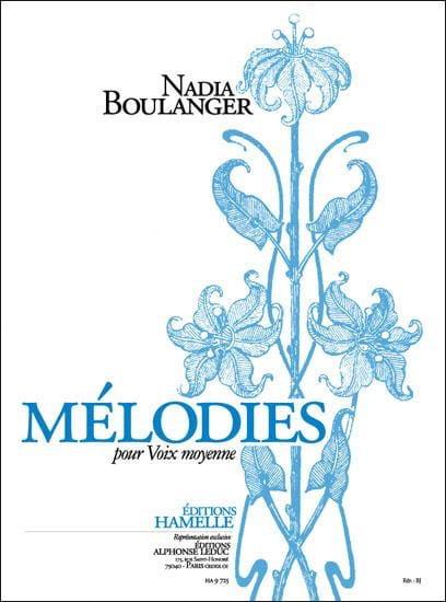 Nadia Boulanger - Melodies - Partition - di-arezzo.com