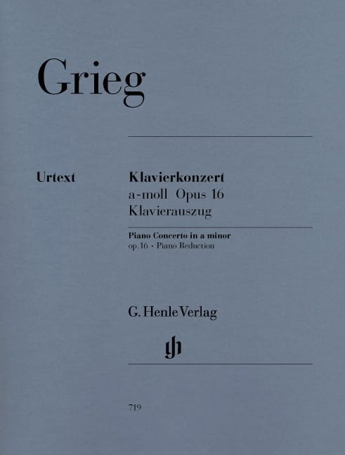 Edward Grieg - Piano Concerto In The Minor Opus 16 - Partition - di-arezzo.co.uk