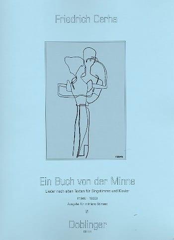 Ein Buch Von Der Minne - Friedrich Cerha - laflutedepan.com