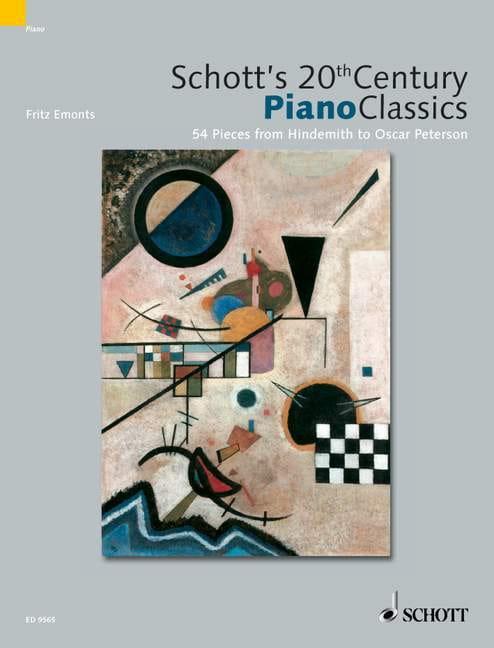 - Schott's 20th Century Piano Classics - Partition - di-arezzo.co.uk