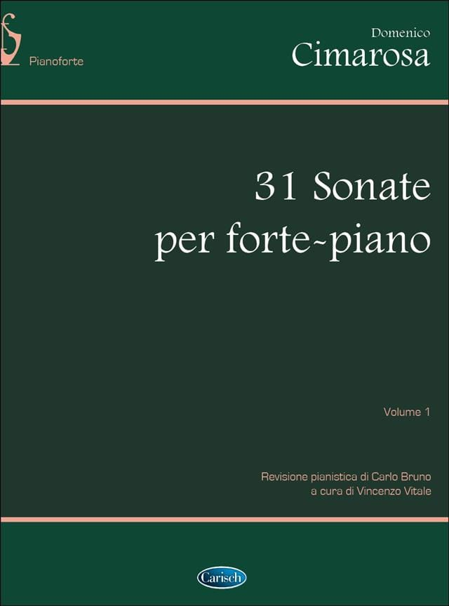 Domenico Cimarosa - 31 Sonatas. Volumen 1 - Partition - di-arezzo.es