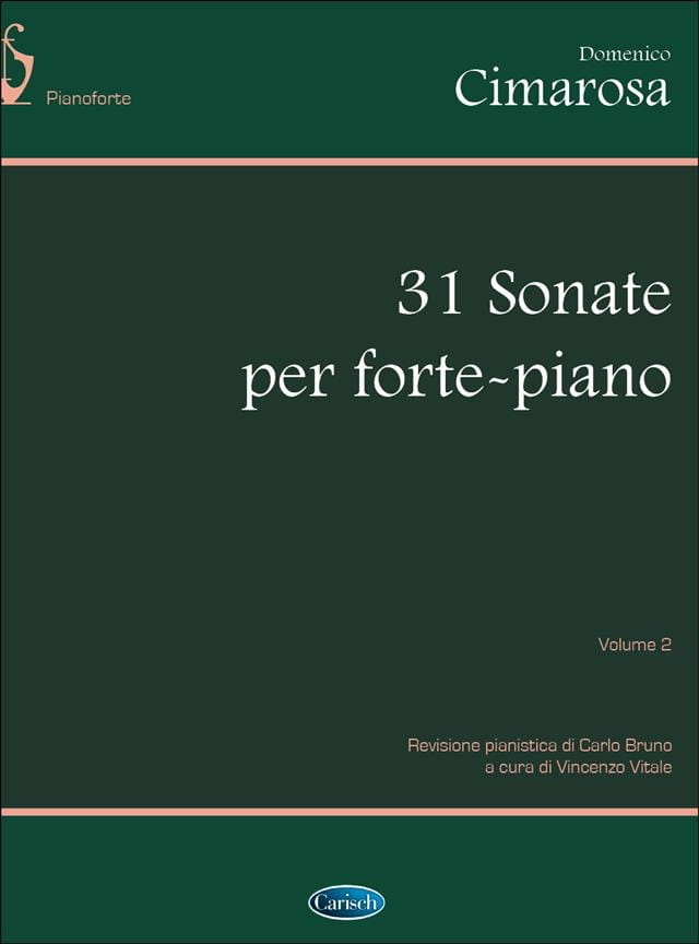 Domenico Cimarosa - 31 Sonatas. Volumen 2 - Partition - di-arezzo.es