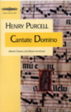 Cantate Domino - Henry Purcell - Partition - Chœur - laflutedepan.com