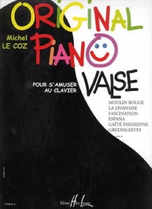 Michel LE COZ - Piano original Waltz - Partition - di-arezzo.es