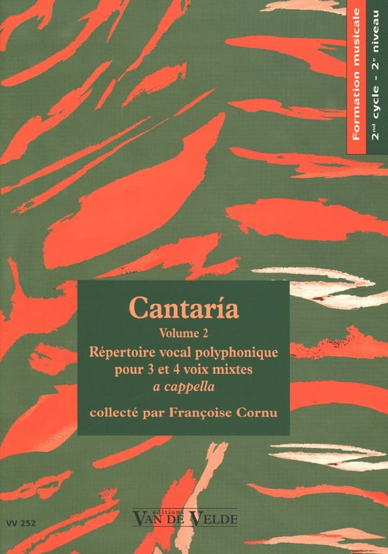 - Cantaria Volume 2 - Partition - di-arezzo.com