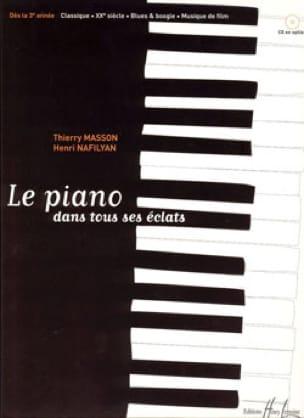 MASSON - NAFILYAN - The Piano in all its splinters - Partition - di-arezzo.co.uk
