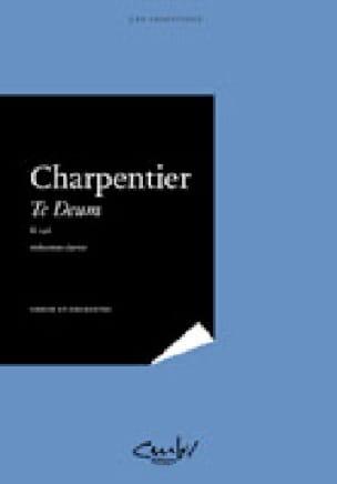 Marc-Antoine Charpentier - Te Deum H 146 - Partition - di-arezzo.co.uk