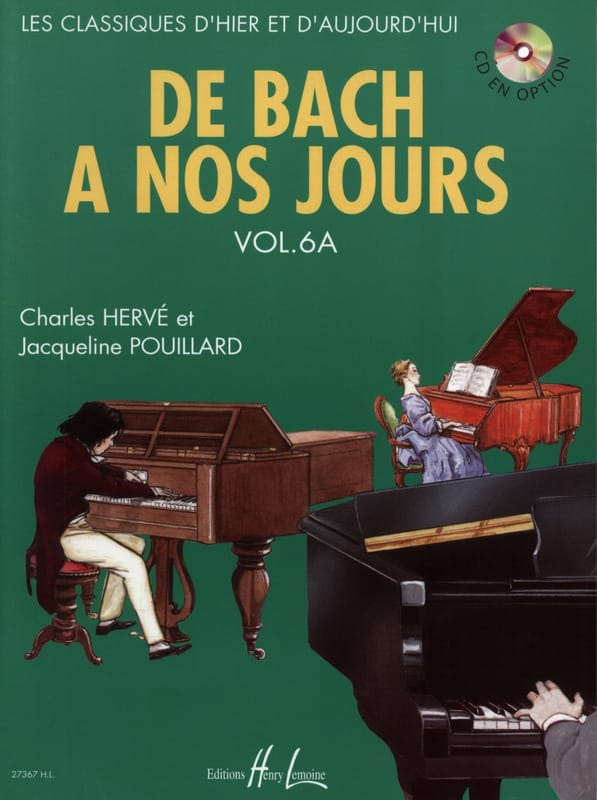 DE BACH A NOS JOURS - from Bach to the present day - Volume 6A - Partition - di-arezzo.com