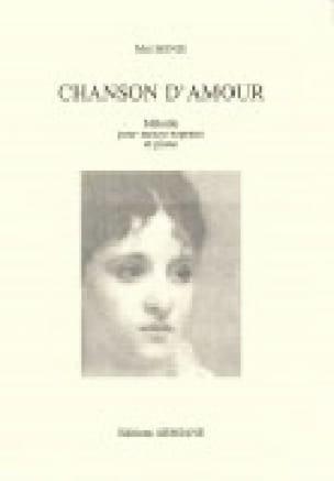 Chanson D'amour - Mel Bonis - Partition - Mélodies - laflutedepan.com