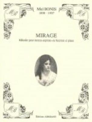 Mirage - Mel Bonis - Partition - Mélodies - laflutedepan.com
