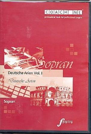 Deutsche Arien Volume 1. Soprano CD - Partition - laflutedepan.com
