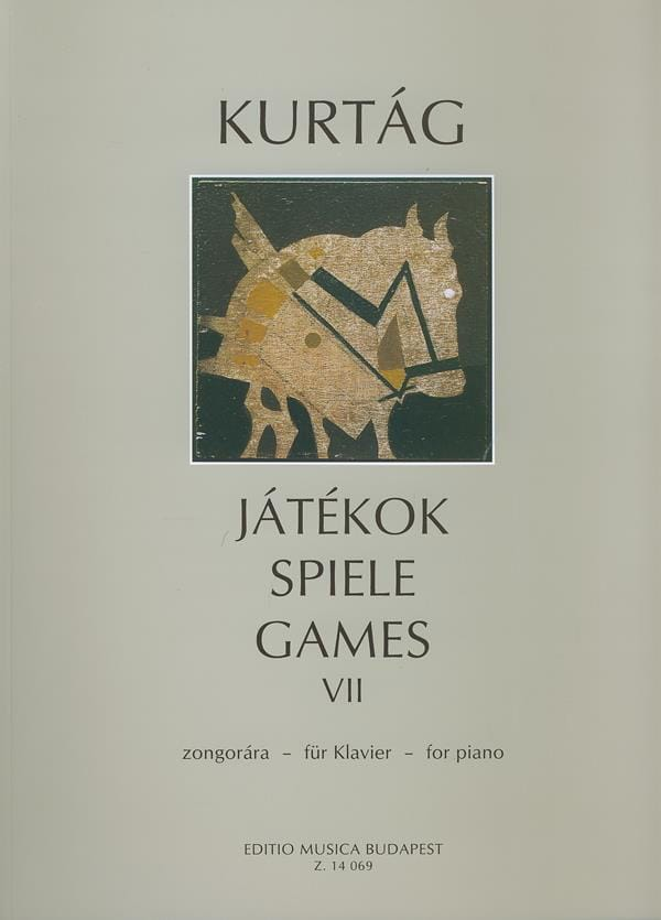 György Kurtag - Jatekok Volume 7 - Partition - di-arezzo.co.uk
