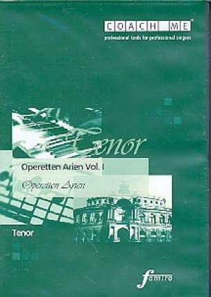 Operetten Arien Volume 1. Ténor. CD - Partition - laflutedepan.com