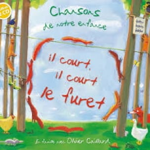 Il Court, il Court le Furet. CD - Partition - laflutedepan.com