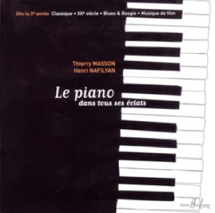 MASSON - NAFILYAN - The Piano In All His Eclats - CD - Partition - di-arezzo.co.uk
