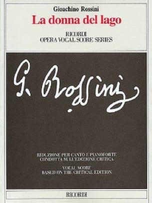 La Donna Del Lago - ROSSINI - Partition - Opéras - laflutedepan.com