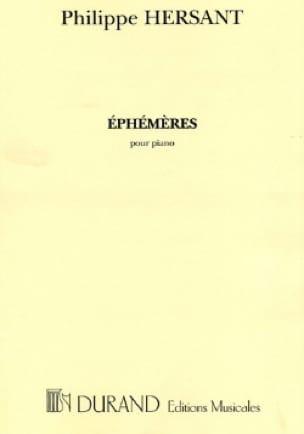 Philippe Hersant - Ephémères - Partition - di-arezzo.ch